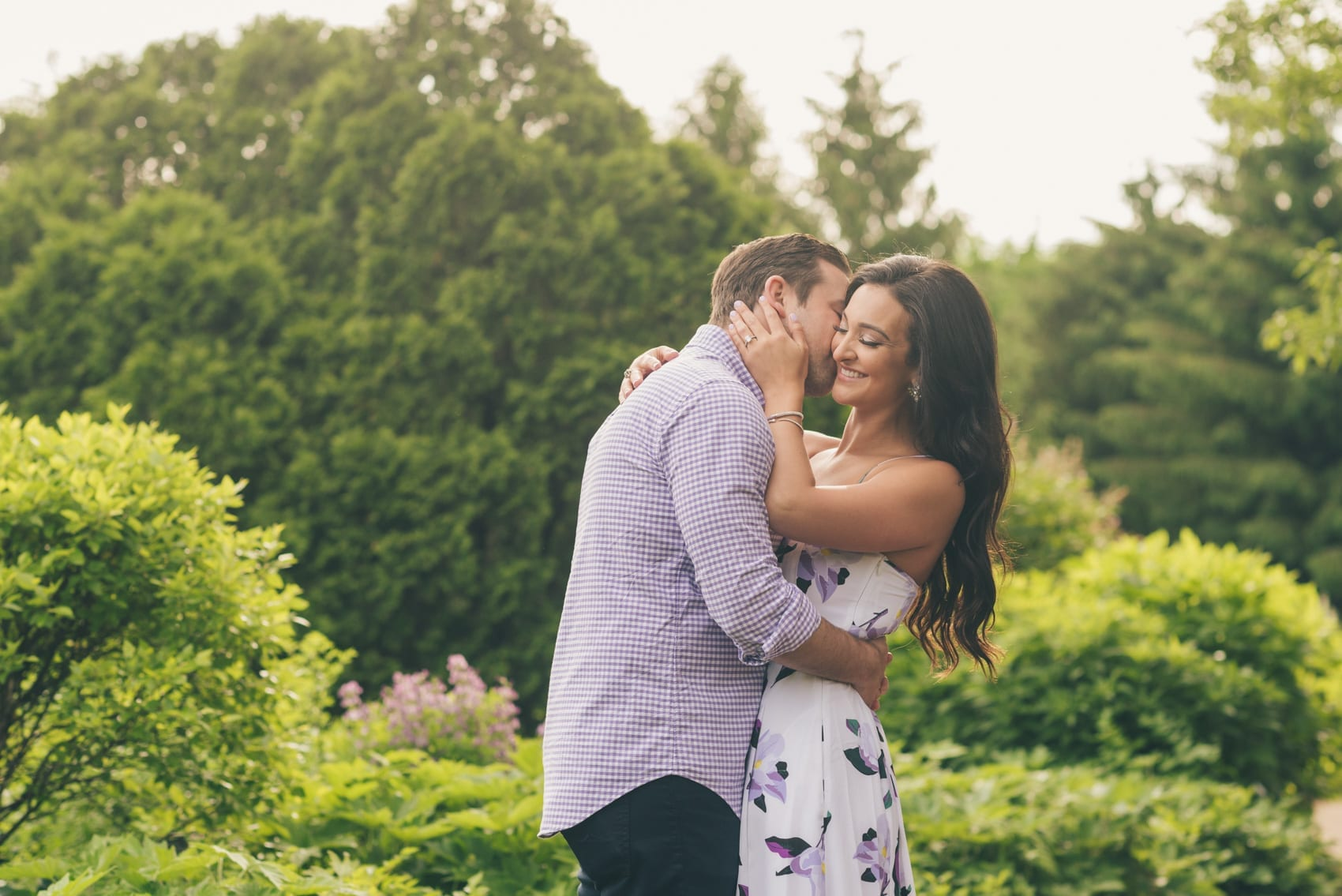 Thara Photo Chicago Engagement Photographer Chicago Botanic Garden Glencoe