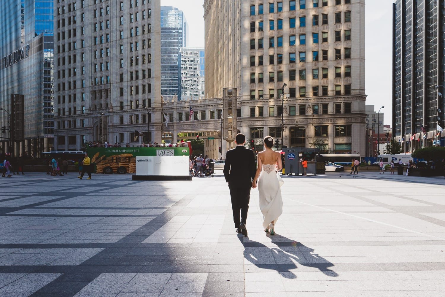 Chicago Downtown Wedding Photographer Thara Photo