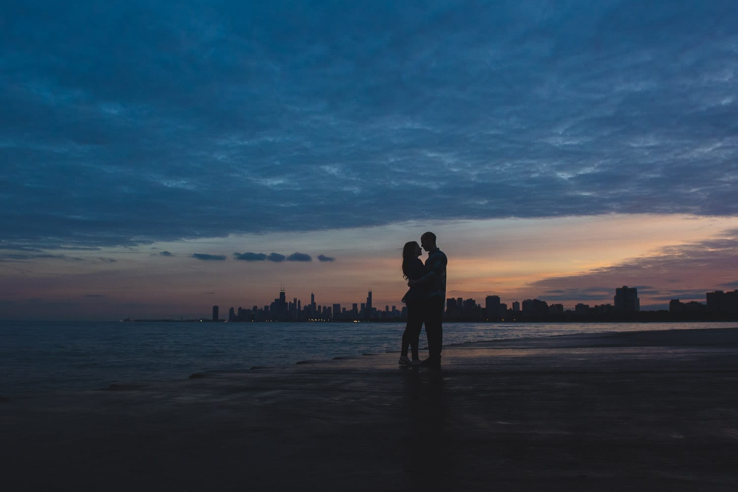 Chicago Downtown Engagement Photographer Thara Photo