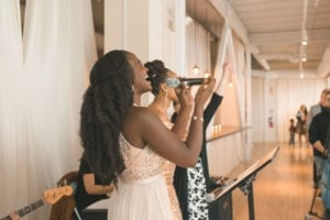 thara photo chicago wedding photographer greenhouse loft winter indoor