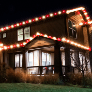 cost of christmas light installation