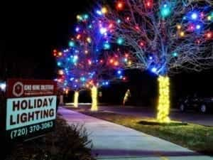 cost of holiday light installation