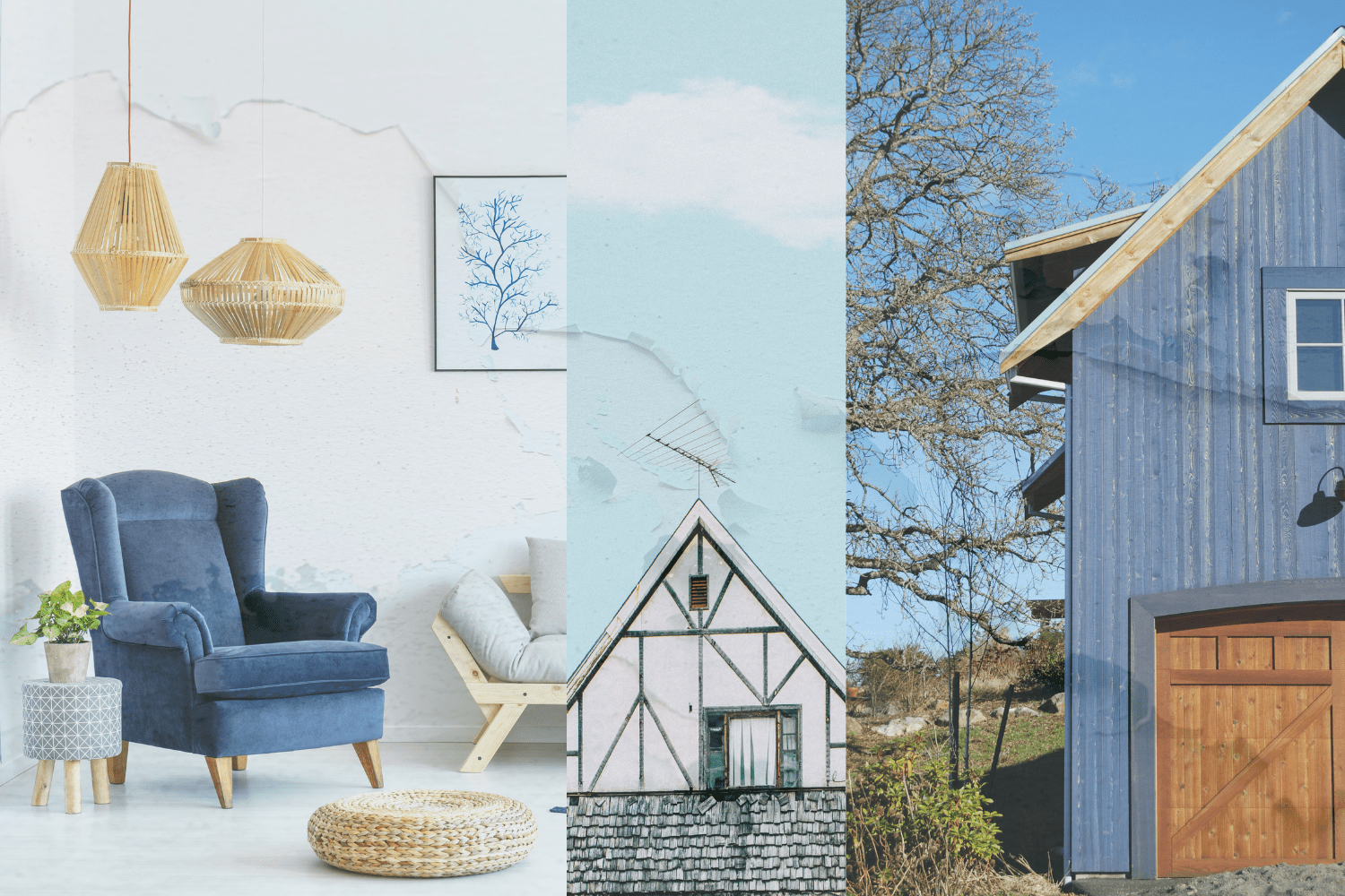 Paint Trends for Blue & Green Colors