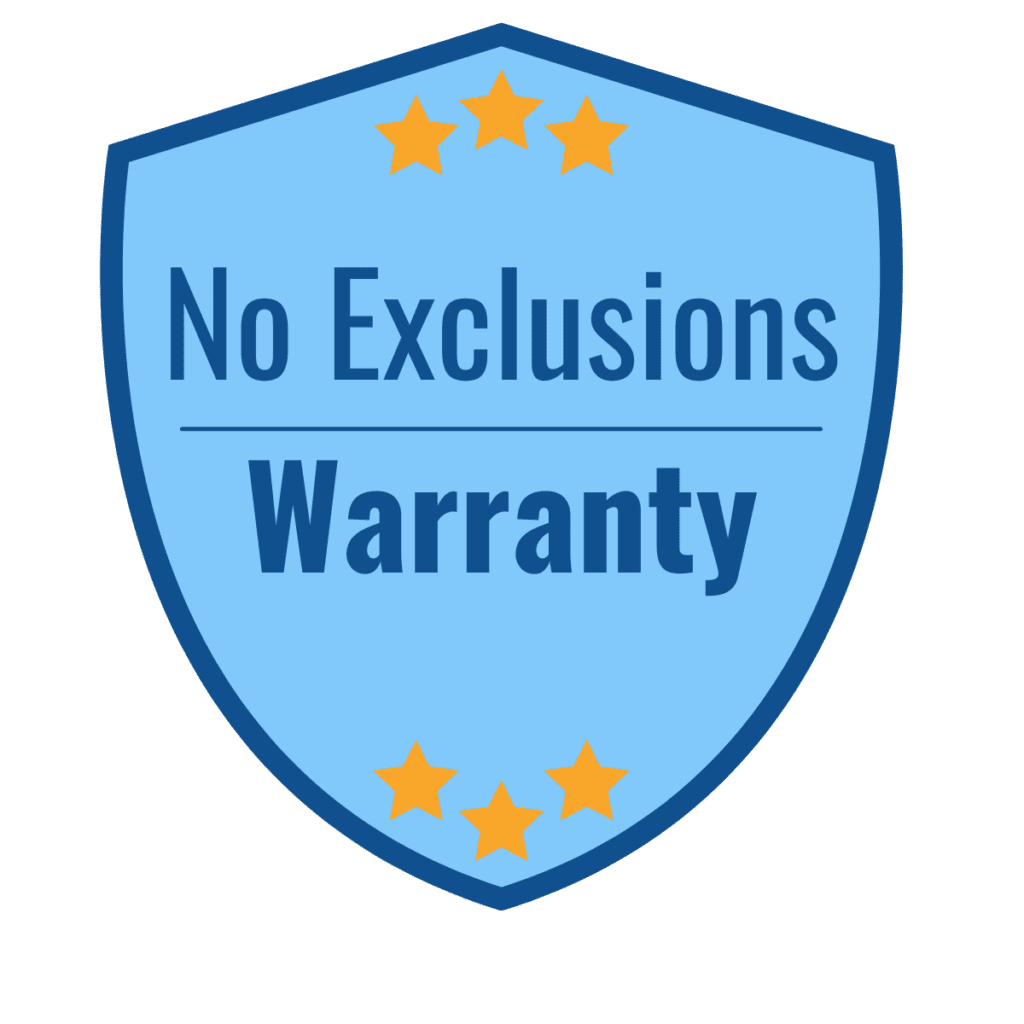 No Exclusions Paint Warranty