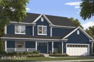 Sw colorsnap visual of home: paint color Naval