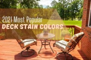2021 most popular stain colors