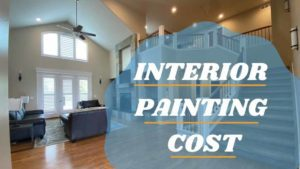 Interior painting cost title page with image of interior painted by kind home solutions