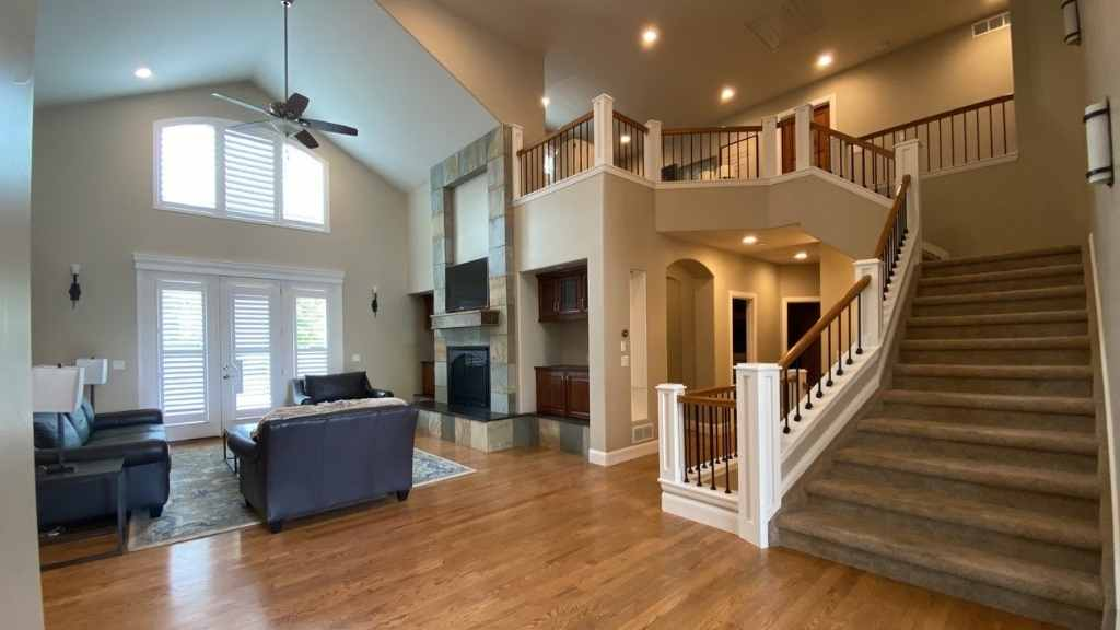 photo of a denver Interior painted by kind home solutions